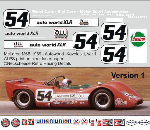 Autoworld M6B ver1