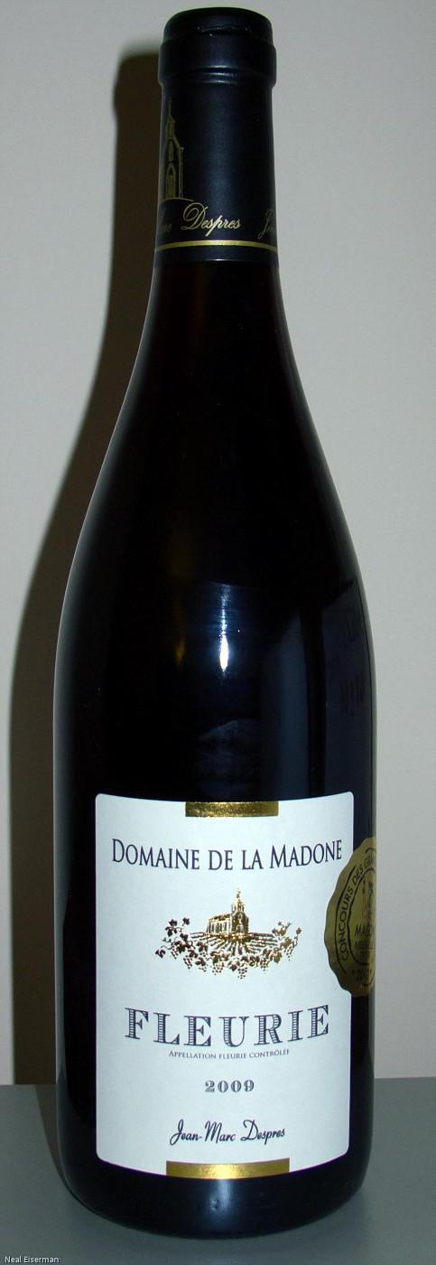 Domaine de la Madone Fleurie Cuvée Tradition 2009