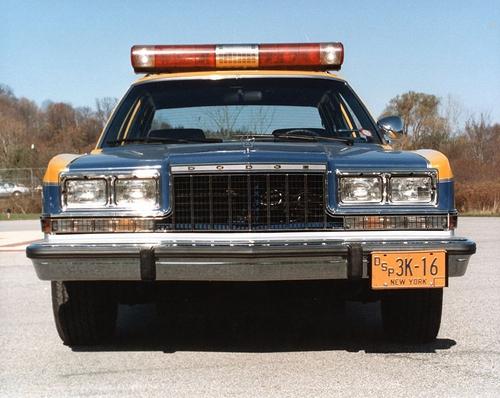 NY - NYSP 1983 Dodge Diplomat