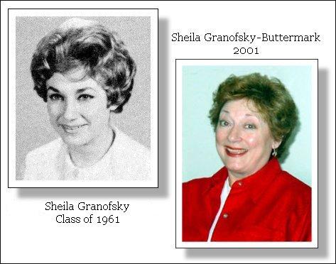 Sheila Granofsky Class of 1961