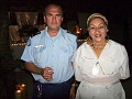 Head of UN Mission in Jacmel in the company of Mrs Michaelle Craan