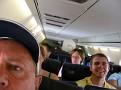 passengers returning to Boston from hot/humid Washington, DC