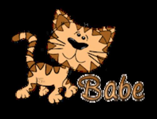 Babe - CuteCatWalking