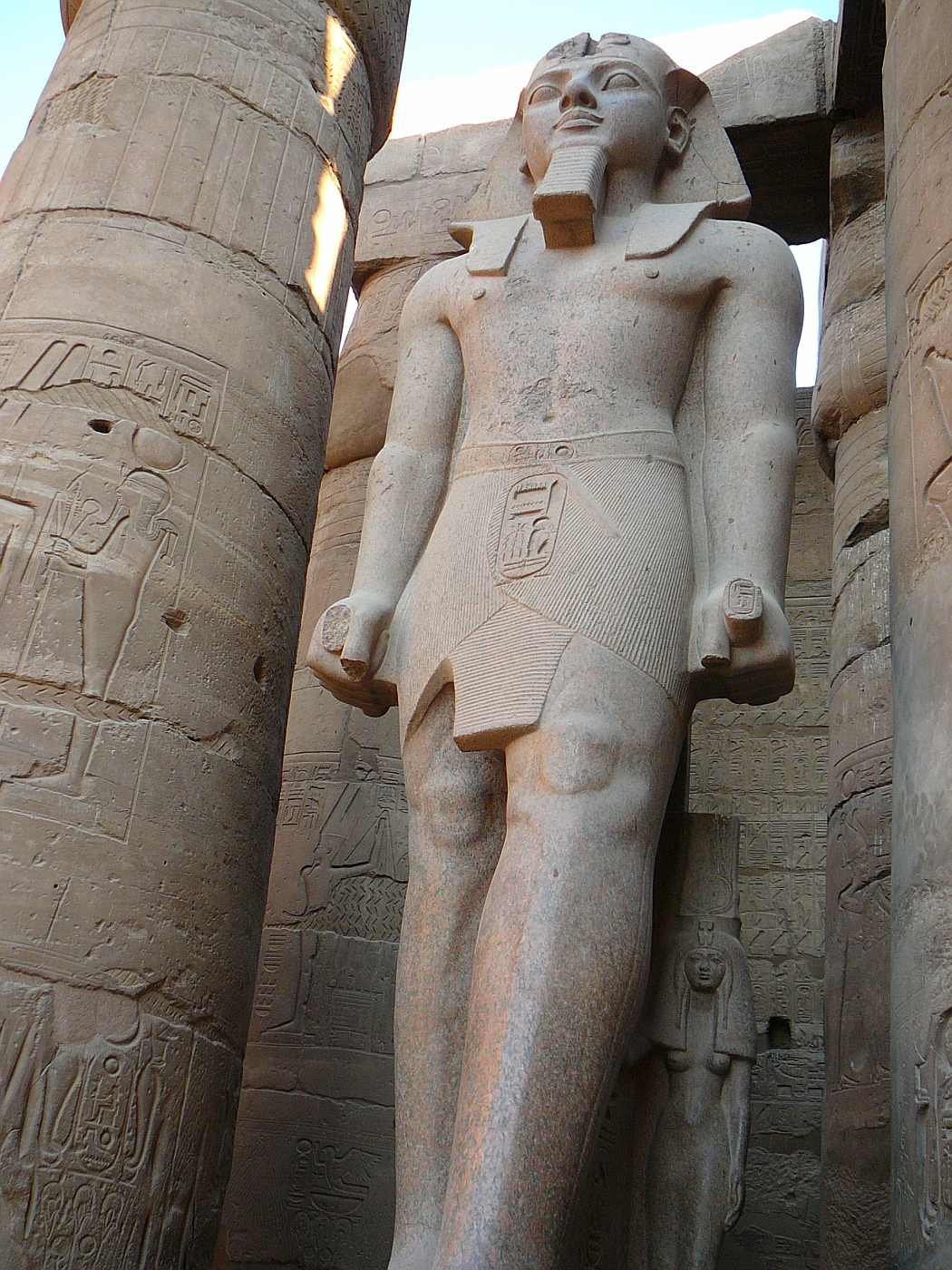 Huge Statue of Ramses II