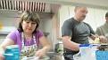 На кухне кипит работа