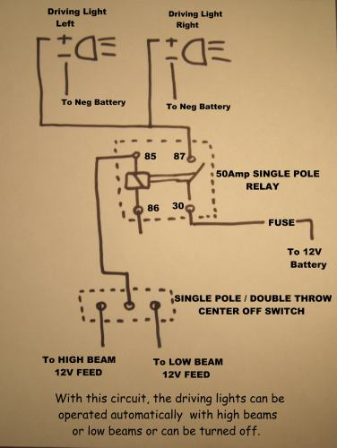 wiring driving lights another option rh vstrom info