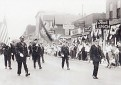 CENTENNIAL PARADE, MAIN ST JUST NORTH OF GROVE ST 1954