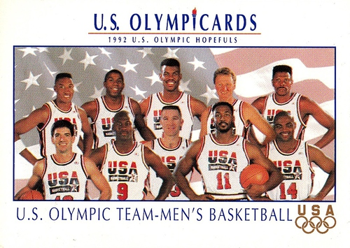 1992 Impel US Olympicards #018 (1)
