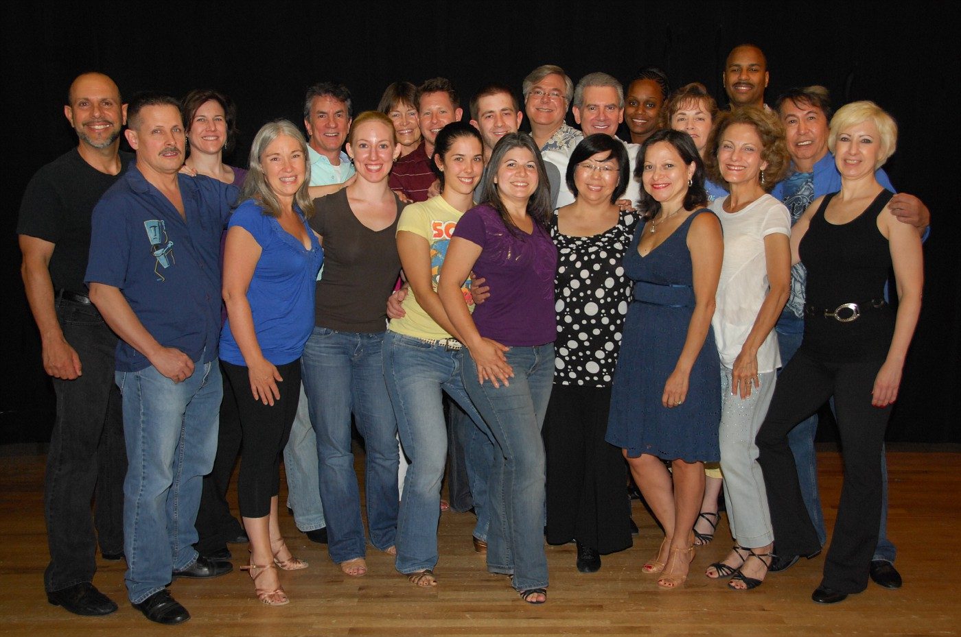 West Coast Swing & Hustle Showcase Cast Picture