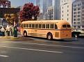 1949 Mack model S-44DT Orange & Black Bus Lines, Fairview, NJ.