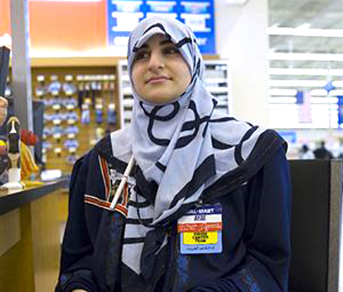 WAL-lah-MART clerk in Dearbornistan sells falafel, olives and Islamic greeting cards