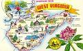 00- Map of WEST VIRGINIA (WV)