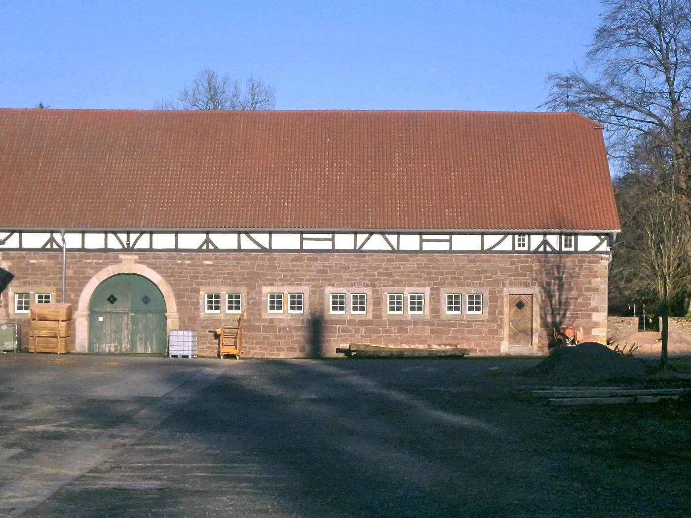 Wirtschaftsgebäude Haus Merlsheim