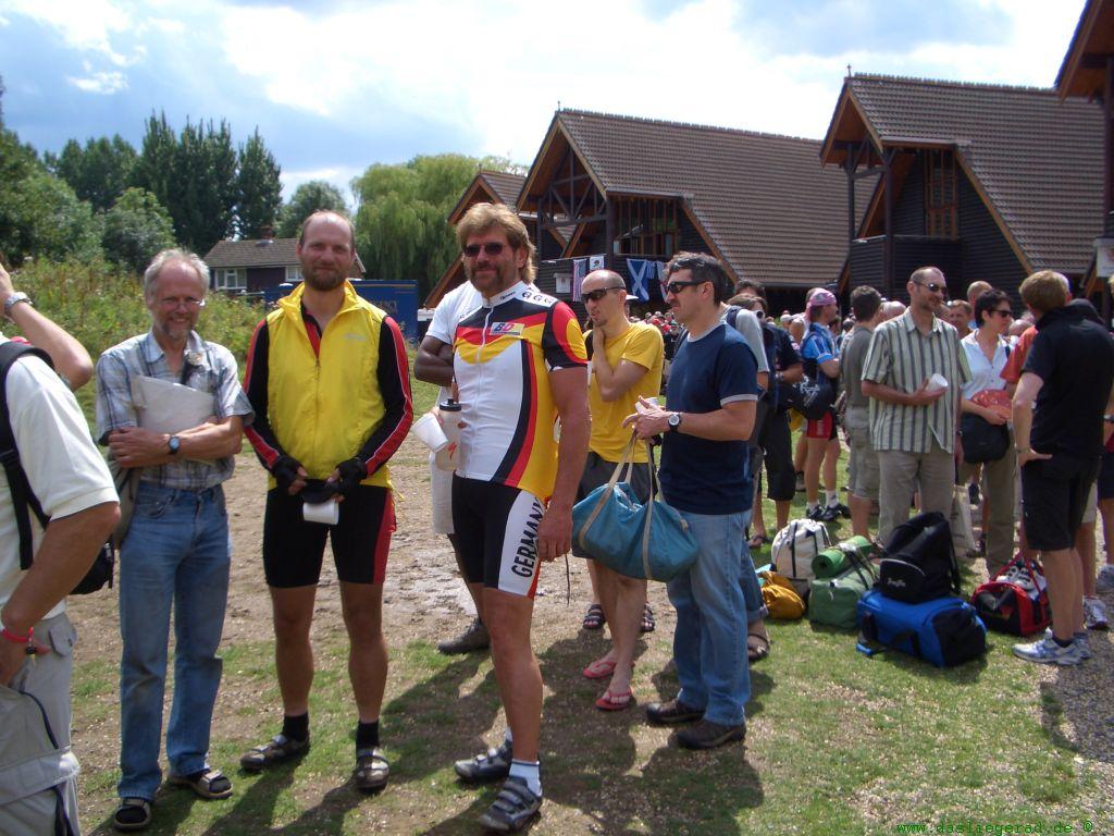 Joachim & Manfred before registration