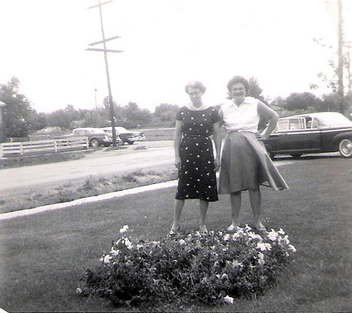 14-Mamaw Aree and Friend in Michigan