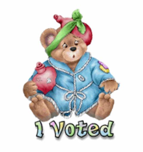 I Voted - BearGetWellSoon