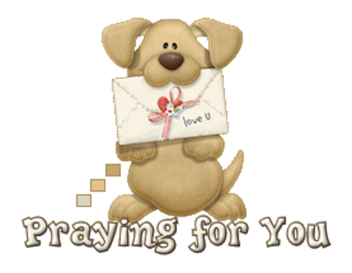 Praying for You - PuppyLoveULetter
