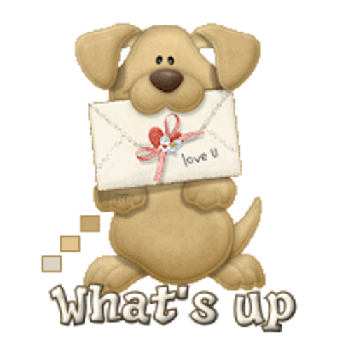 What's up - PuppyLoveULetter