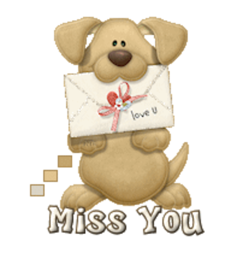 Miss You - PuppyLoveULetter