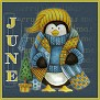 Stay Warm Penguin-June