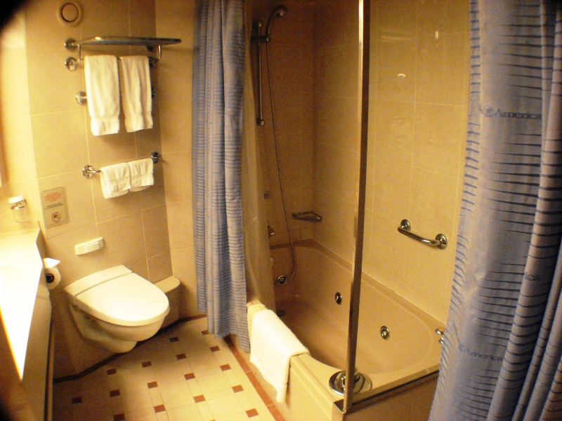 Bathroom for CAT SY Suite