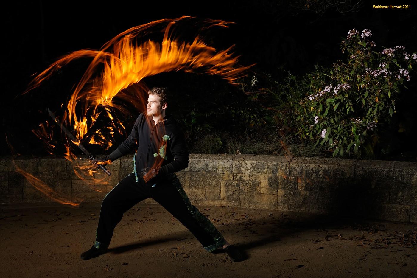 Fire Swordplay