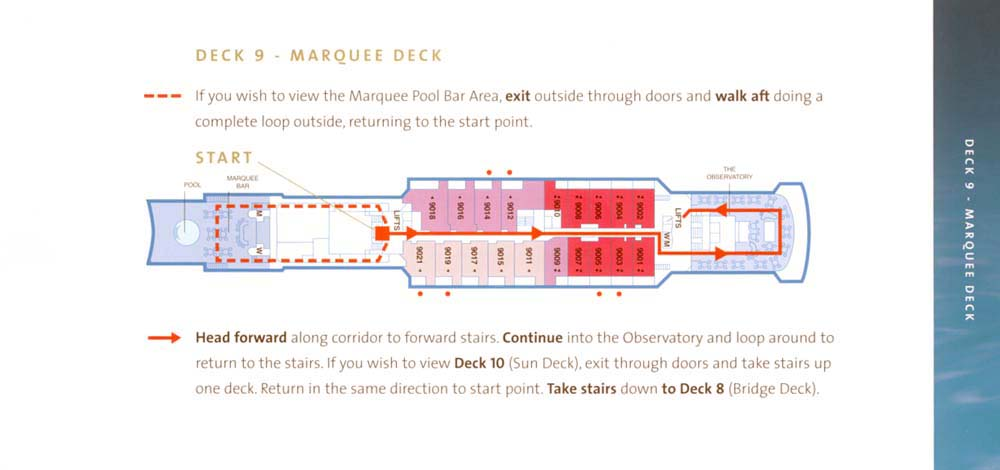 Marquee Deck Plan