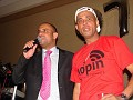The two business  partners Laurent Lamothe and Michel Martelly