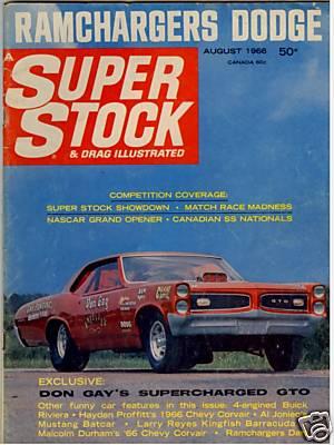 SSDI Cover Aug 66 Don Gay GTO