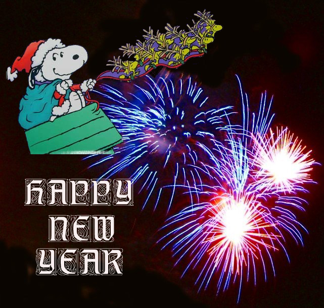 Snoopy New Year