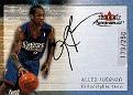 2000-01 Autographics Silver Allen Iverson (1)