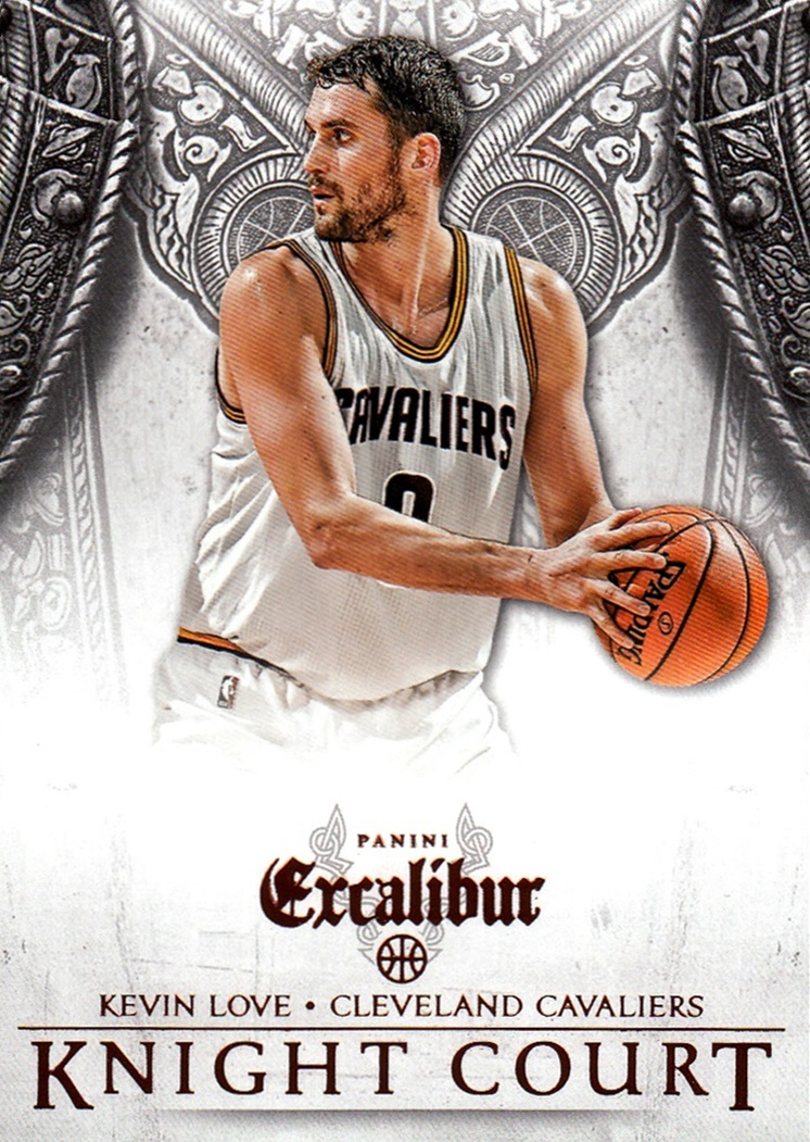 2014-15 Panini Excalibur Knight Court #11 (1)