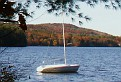 sail boat rests