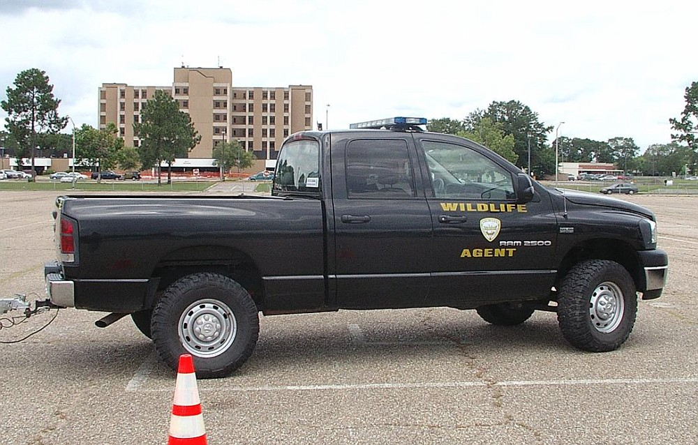 Louisiana wildlife and fisheries game warden dodge ram for Louisiana fish and game