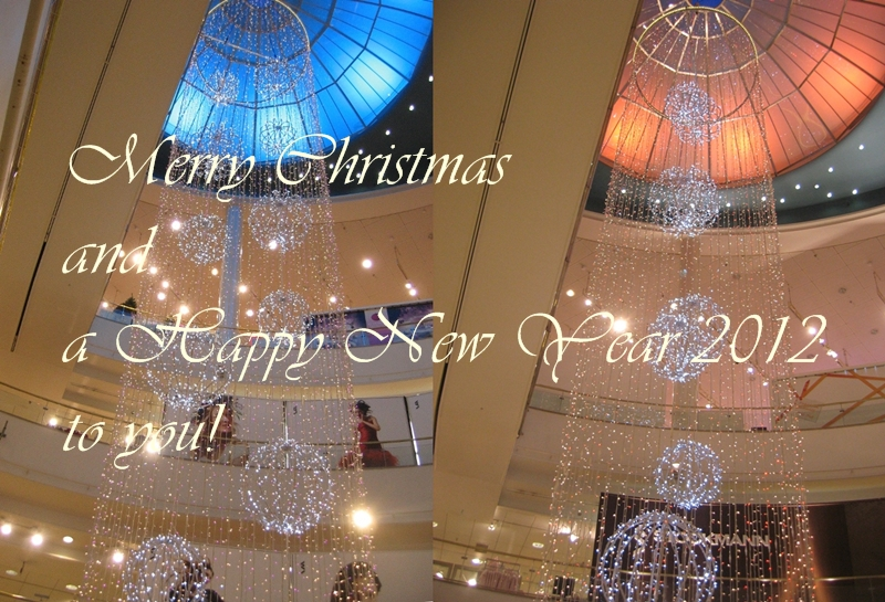 Christmas at Stockmann's department store, year 2010 and 2011