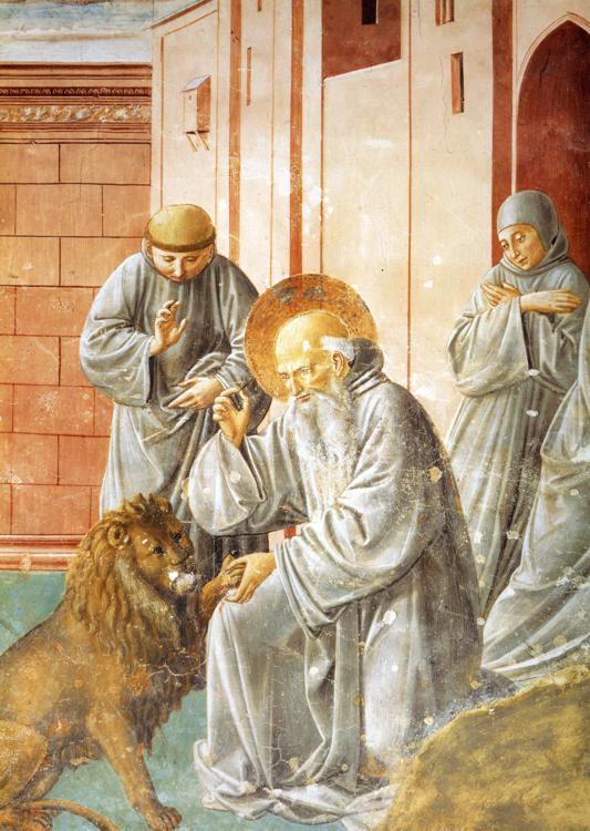 Смерть и вознесение св. Франциска. 1452