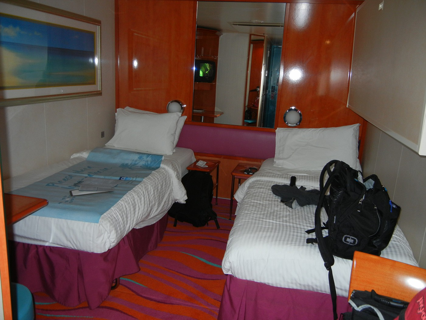 Bed Configuration On Jewel Norwegian Cruise Line Cruise Critic
