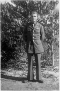 45- SGT. Joe Henry Hutson in Army uniform.