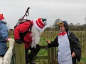 Santa refuses help from friendly penguin