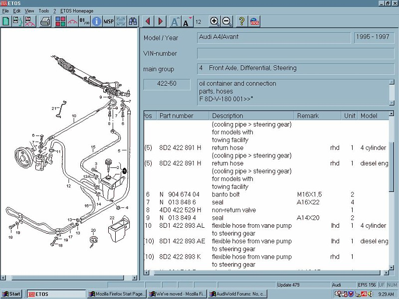 pspumpparts vi anatomy of a leaking high pressure power steering hose Toyota Power Steering Diagram at readyjetset.co