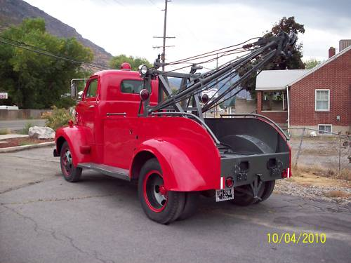 1951 ford coe tow - photo #28