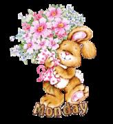 DOTW Monday - BunnyWithFlowers