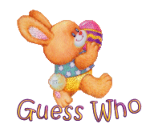 Guess Who - EasterBunnyWithEgg16