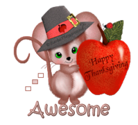 Awesome - ThanksgivingMouse