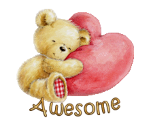 Awesome - ValentineBear2016