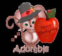 Adorable - ThanksgivingMouse
