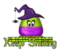 Keep Smiling - CandyCornWitch