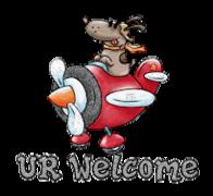 UR Welcome - DogFlyingPlane