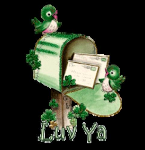 Luv Ya - StPatrickMailbox16