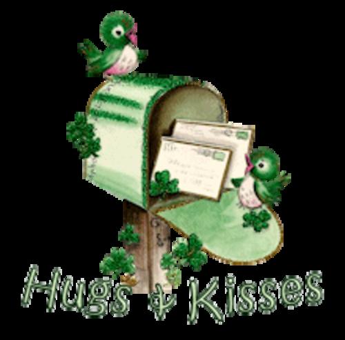 Hugs & Kisses - StPatrickMailbox16
